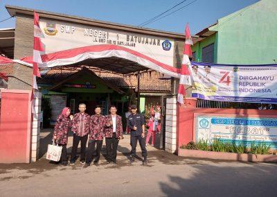 Lepas Sambut Kepala SMP Negeri 1 Batujajar