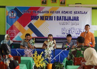 Pemilihan Ketua Komite SMPN 1 Batujajar-2