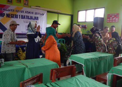 Pemilihan Ketua Komite SMPN 1 Batujajar-7