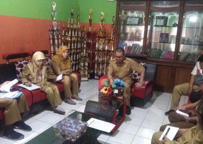 Rakor Wakasek dengan Kepala Sekolah SMPN 1 Batujajar-2