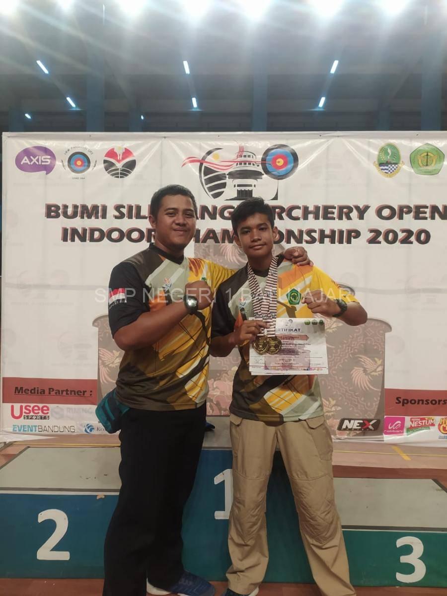 Juara 3 Bumi Siliwangi Archery Open Indoor Championship 2020