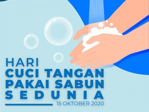 Hari Cuci Tangan Pakai Sabun Sedunia